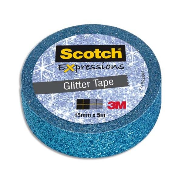 masking tape bleu scotch glitter tape
