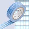 masking tape rayure blanc bleu washi tape