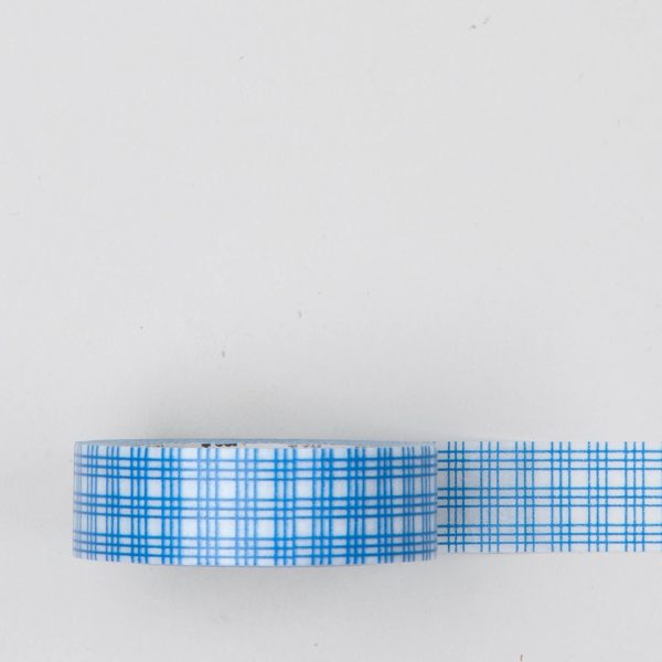 masking tape bleu blanc washi tape