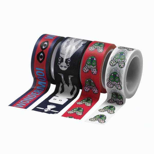 masking tape noir rouge ruban adhésif