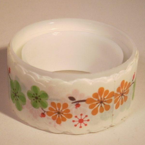 paper tape fleur ruban adhésif en papier