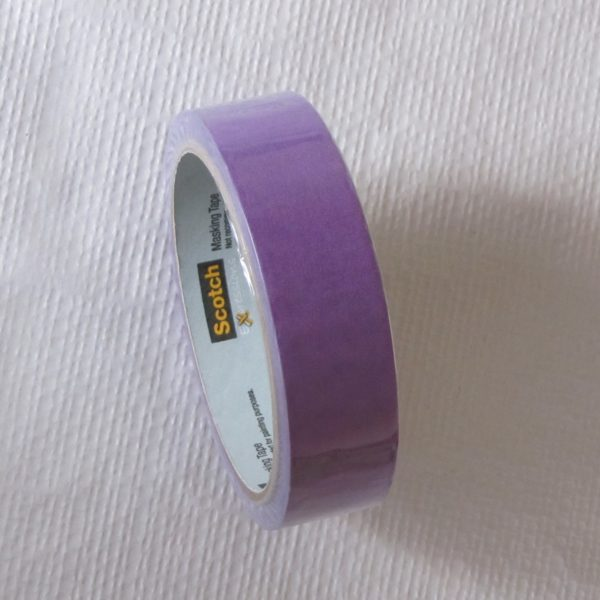 deco tape violet scotch washi tape