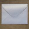 enveloppe blanche irisee