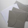 enveloppe carte argent washi tape