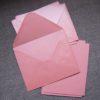 enveloppe rose carte washi tape