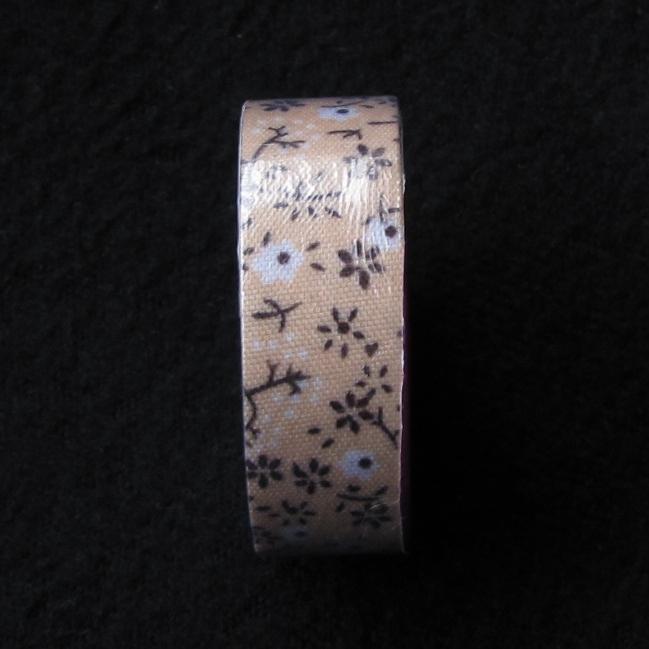 fabric tape fleur ruban tissu autocollant