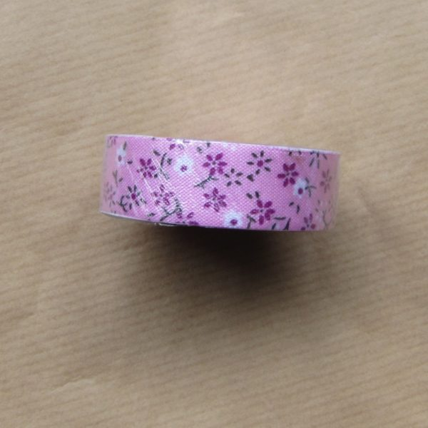 fabric tape fleur ruban tissu adhesif