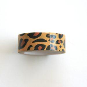 masking tape léopard