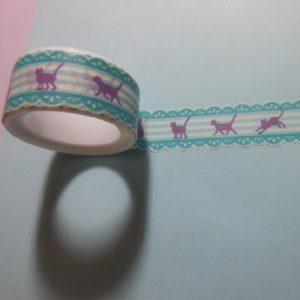 paper tape chat ruban adhésif papier