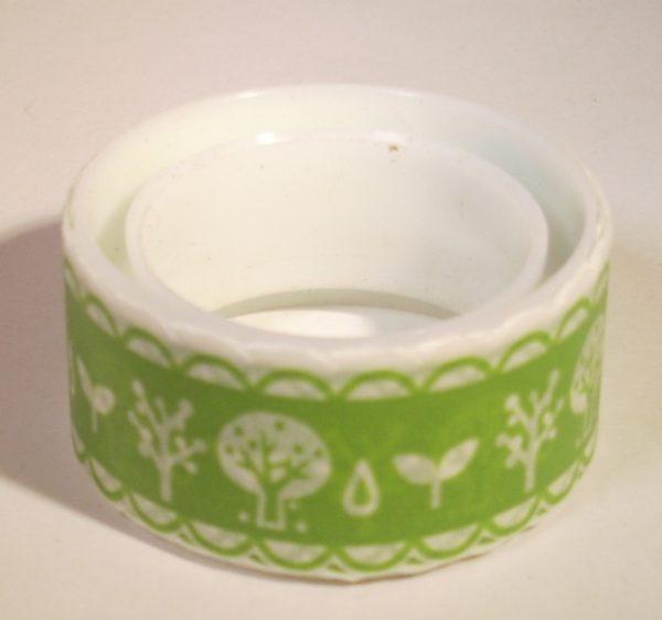 paper tape vert blanc arbres ruban adhésif papier