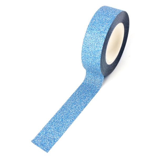 paper tape bleu paillette ruban adhésif en papier