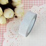 paper tape gris pailleté ruban papier adhésif