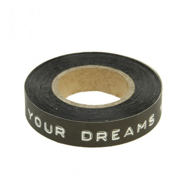 deco tape follow your dreams