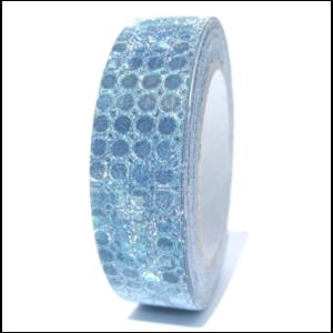 fabric tape bleu paillette ruban adhésif en tissu