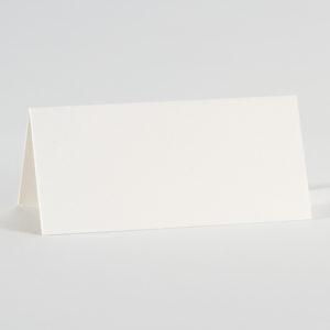marque-place blanc irise