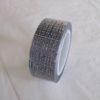 fabric tape argenté ruban de tissu adhésif