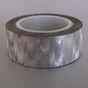 fabric tape argent gris ruban adhésif en tissu