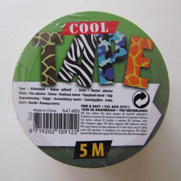 deco tape jungle vert marron