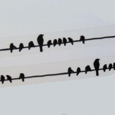 masking tape deco oiseau washi tape