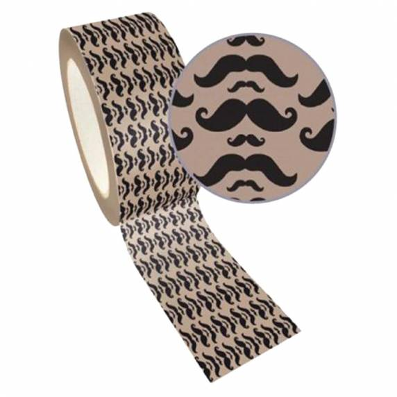 duct tape moustache washi tape
