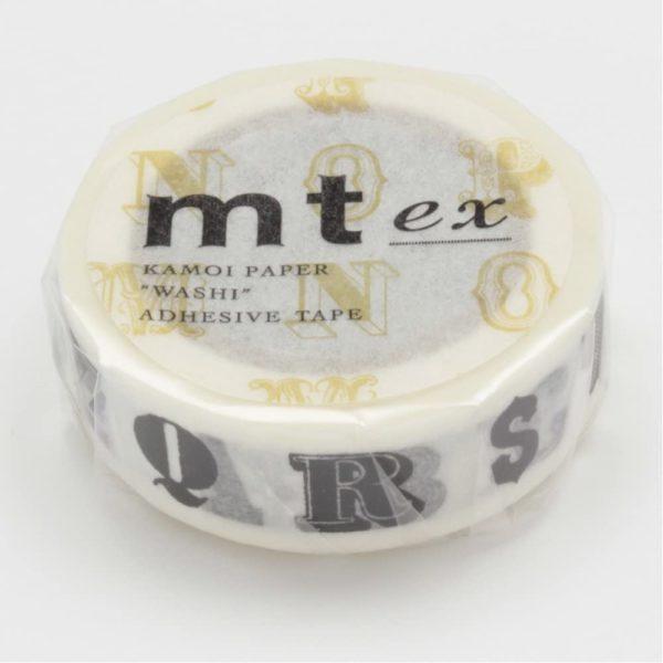 masking tape alphabet lettres