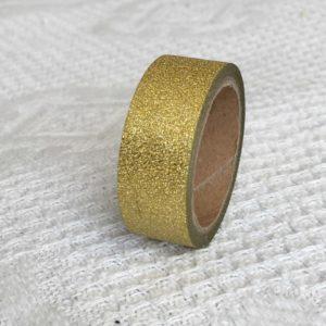masking tape dore paillettes