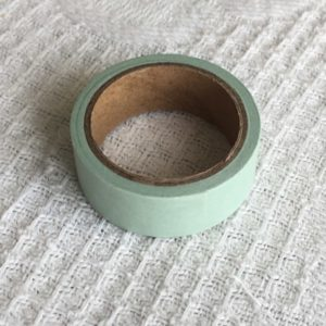 masking tape vert d'eau